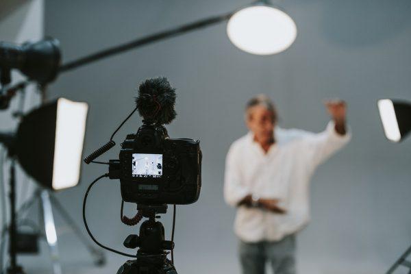 Clase de audiovisuales en Logroño